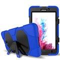 Противоударный Защитный Case for Samsung Galaxy Tab A 7.0 T280 T285 SM-T280 SM-T285 Kickstand Case Luxury Силиконовые Броня Обложка