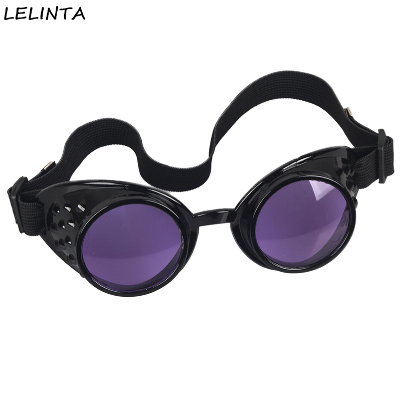 f5f2a64b5e 2016 New Selling 8 Colors Lens Unisex Gothic Vintage Gothic Style Steampunk  Goggles Welding Glasses Cosplay Eyewear