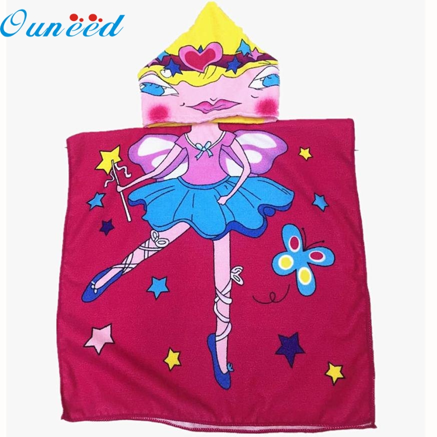 JA 12 Mosunx Business Hot Selling Fast Shipping Hooded Towel for Kids Toddlers Bath Wrap Beach Poncho with Hood Robe Baby