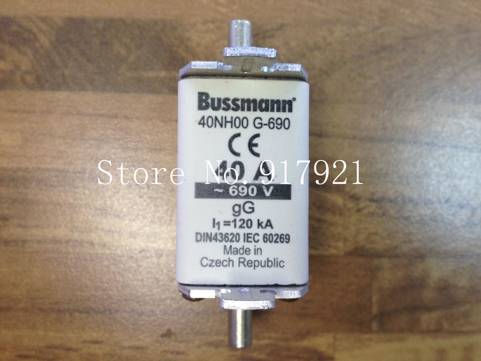 все цены на [ZOB] The United States Bussmann 40NH00G-690 BUSS fuse 690V genuine original  --2pcs/lot онлайн