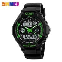 SKMEI водостойкий цифровые часы модные для мужчин Спорт Back Light Ударопрочный Спортивные часы для бега повседневное SimpleWristwatch