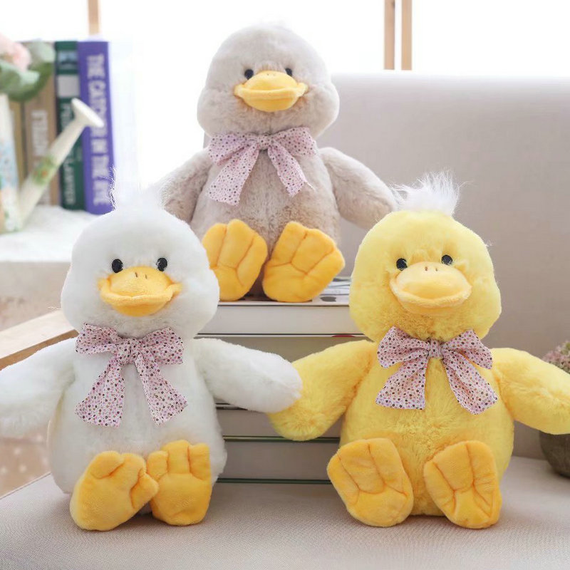Toys & Hobbies 1pc Simulation Duck Plush Toy Lifelike Mini Yellow Duck Plushie Doll Soft Toy Duckling Stuffed Toy Duck Plush Toy For Kids