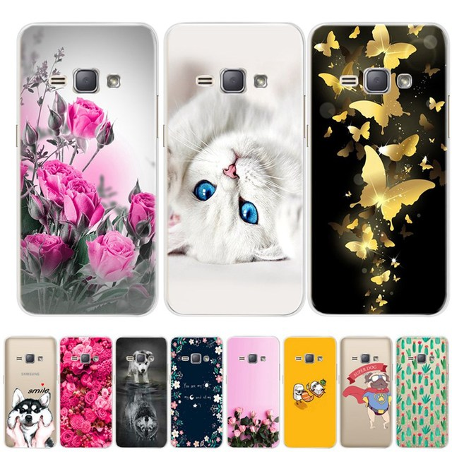 Silicone TPU Cases For Samsung Galaxy J1 6 2016 Soft Transparent Case J120 J120F J120H Back Cover For Samsung J1 2016 Phone Case