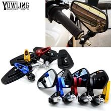 Universal 7/8 22mm handle bar motorcycle end mirror Motorcycle Mirror FOR HONDA CBR 600 F2,F3,F4,F4i CBR900RR SUZUKI