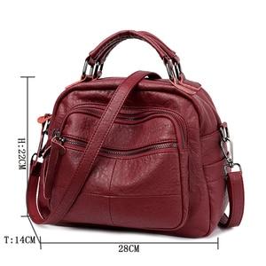 Image 2 - 2019 Luxury Handbags Women Bags Designer Soft Leather Bag High Quality Shoulder Crossbody Bag Women Casual Tote Bags Sac a Main