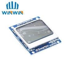 C81 10 adet/grup yeni modülü beyaz arka ışık 84*48 84x84 LCD adaptörü PCB 5110