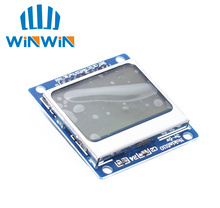 C81 10 pièces/lot nouveau Module blanc rétro éclairage 84*48 84x84 LCD adaptateur PCB pour Nokia 5110
