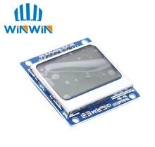 Módulo de retroiluminación blanca C81 10 unids/lote, 84x48, 84x84, adaptador LCD PCB para Nokia 5110
