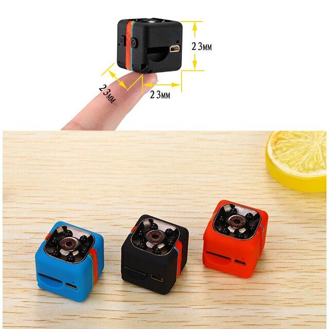 SQ8 SQ11 Mini cámara HD 1080 p Cámara de Acción de deporte videocámara del coche con visión nocturna 12MP Micro DV Cam movimiento sensor de cámara