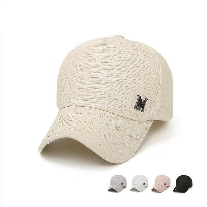 High quality men baseball cap sports brand hat wholesale women fashion  adjustable cotton snapback pop cotton ladies sun hats 2a63ecb1e83