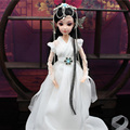 High-end Handmade 30CM White fairy Doll 12 Jointed Chinese Ancient-Costume Dolls Bjd 1/6 Doll Toys for Girl Gift