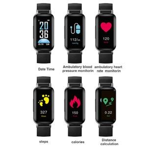 Image 4 - T89 smart band met dual oortelefoon sport fitness armband Bluetooth oortelefoon hartslag bloed pressur waterdicht Smart horloge