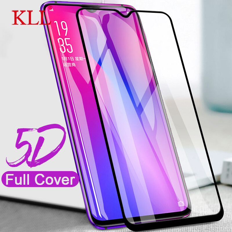 5D Curved Full Cover Tempered Glass For OPPO F9 F7 R17 R15 Pro R11 Plus Screen Protector Film For OPPO A3S A5 Protective Glass