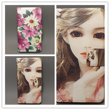 10 species pattern Flower Flag design Flip cover for iphone 3G 3GS cellphone Case Freeshipping