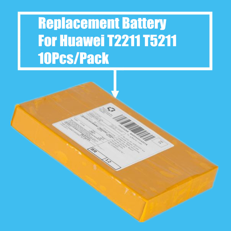 New Arrival 10PCS/PACK 1000mah Replacement Battery for <font><b>Huawei</b></font> <font><b>G6600</b></font> T5211 T2211 High Quality image