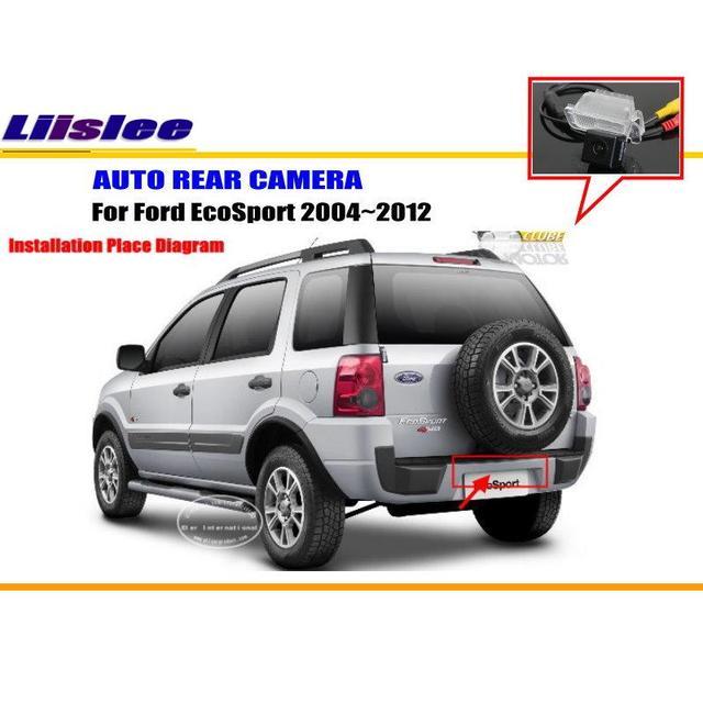 Liislee For Ford Ecosport  Reverse Back Up Camera Parking Camera