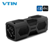 BT 705 Portable Waterproof Speakers Wireless Bluetooth 4.2 Speaker With Microphone&Dual 10W Driver Super Bass Stereo Support NFC