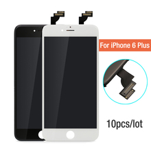 10pcs lot AAA Quality No Dead Pixel For iPhone 6 Plus LCD Screen With Touch Digitizer