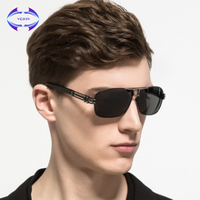 VCKA 2017 NEW Aluminum Magnesium Polarized HD Lens Sunglasses Men Mirror Sun glasses Male Female  Square UV400 Eyewear oculos