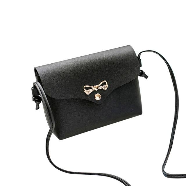 Fashion Women Shoulder Bag luxury handbags women bags designer Solid Cover  Bow Crossbody Bag Messenger bags for women 2018 30abdda7453d3