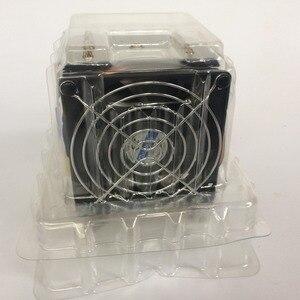 Image 4 - R5 50 CPU cooler 9cm fan 5 heatpipe Fans Heatsink Radiator for intel LGA1155/1156