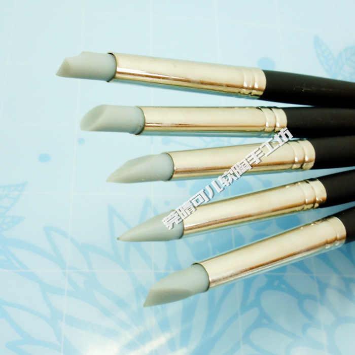 5 sztuk/zestaw 3mm/5mm/10 mmPen głowice Tao Marker gumowe miękkie długopisy miękkie gliny narzędzia DIY profesjonalne ceramiki rzeźba ceramiczne jakości