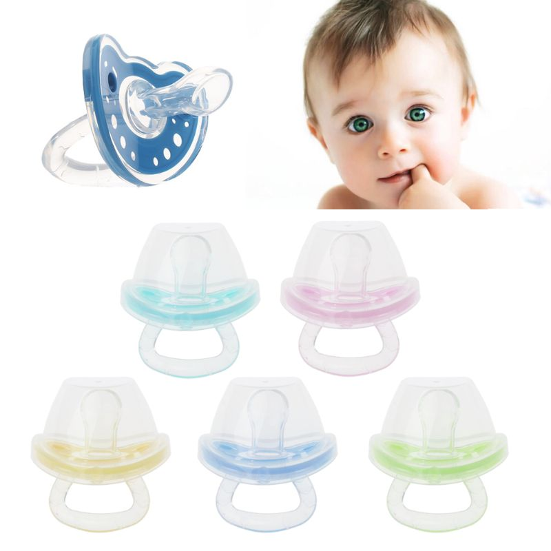 Cute Newborn Baby Orthodontic Pacifier Infant Silicone Teat Dummy Nipple Soother