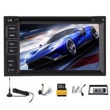 Sub Autoradio Navigator MP5 Video CD win8 USB PC GPS Map Car DVD HeadUnit Touch Screen TV MP3 Radio EQ System Stereo