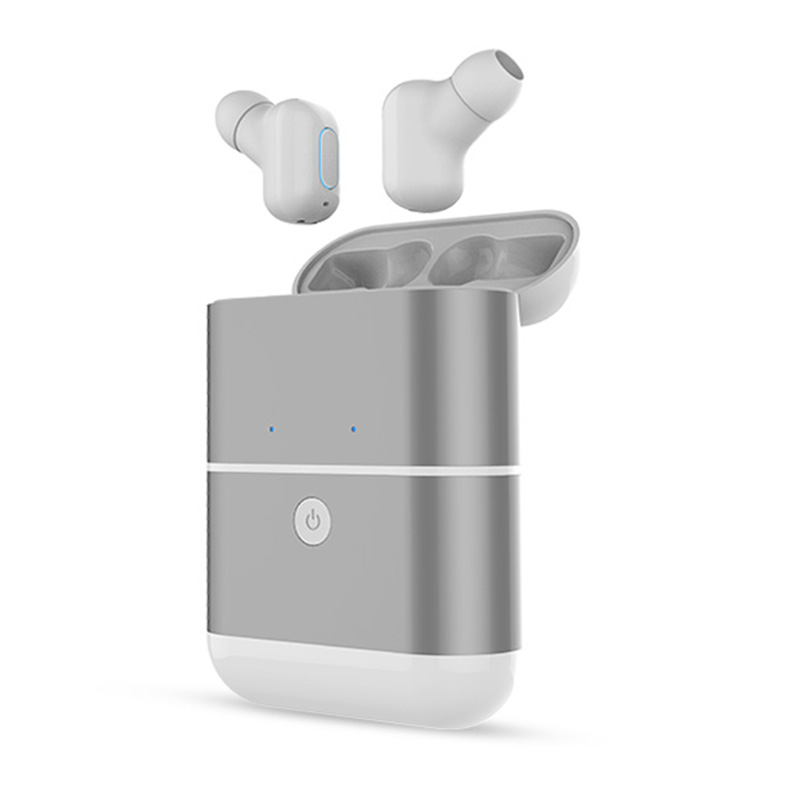 TWS V4.2 Mini Wireless Earphone Bluetooth Earphones Stereo Earbuds Business In-Ear Earphone With Microphone Handsfree Calls original senfer dt2 ie800 dynamic with 2ba hybrid drive in ear earphone ceramic hifi earphone earbuds with mmcx interface