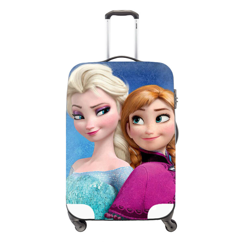 Free shipping 18-30inch Luggage Protective Cover Cute Violetta Travel Luggage Dust Cover Princess Waterproof Suitcase Cover_meitu_8