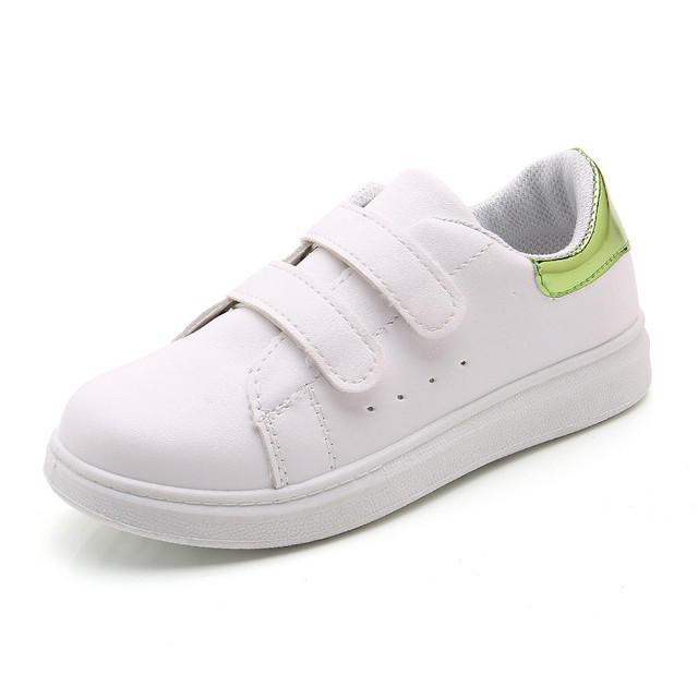 5173d588bbe87 2018 Kids Shoes Children Boys Girls Shoes White School Sneakers Girl Shoes  Sneakers Sport Leisure Shoes for Boys Size 26-35