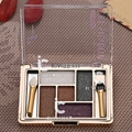 5 Colors Makeup Smokey Eyeshadow Shimmer Eye Shadow Palette Warm Neutral Palette