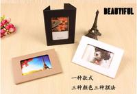 500 Pcs 4 X6 Foldable Postcard Packaging Boxes Photo Window Boxes Greeting Card Kraft Boxes Size