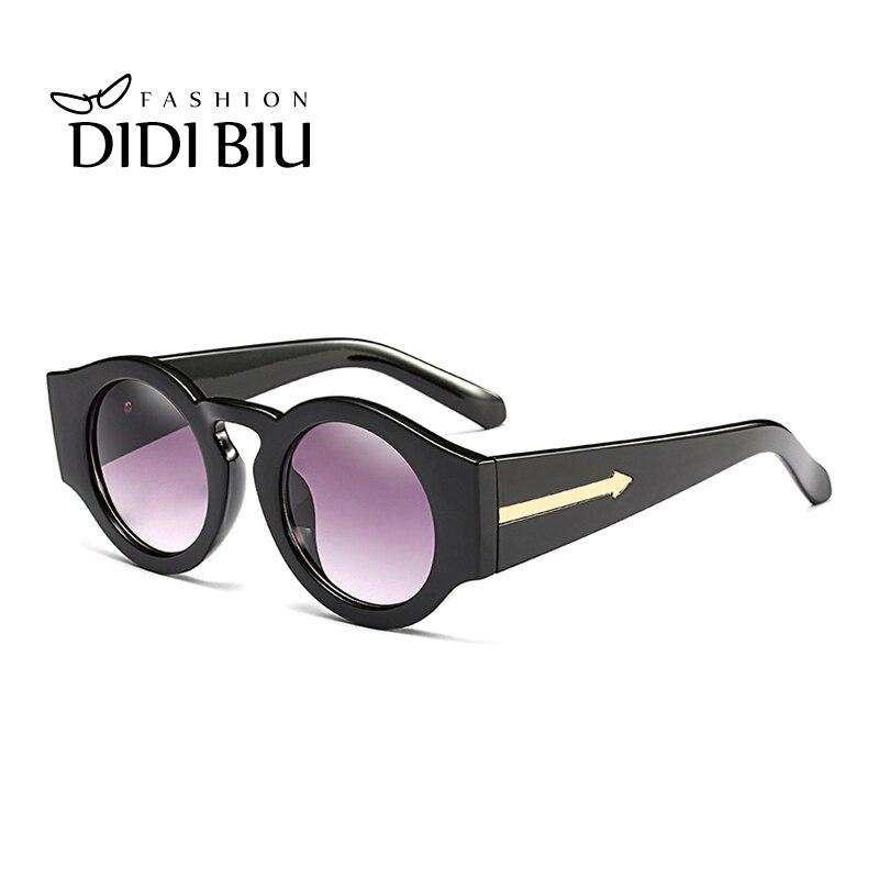 DIDI Lovers Luxus Marke Kleine Runde Sonnenbrille Vintage Pfeil ...