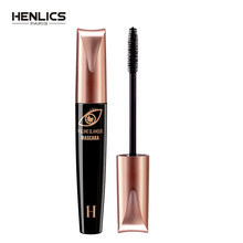 Henlics Super Volume Hitam Anti-Air Glamour Mascara Alami Menebal Memperpanjang Bulu Mata Riasan Mascara(China)
