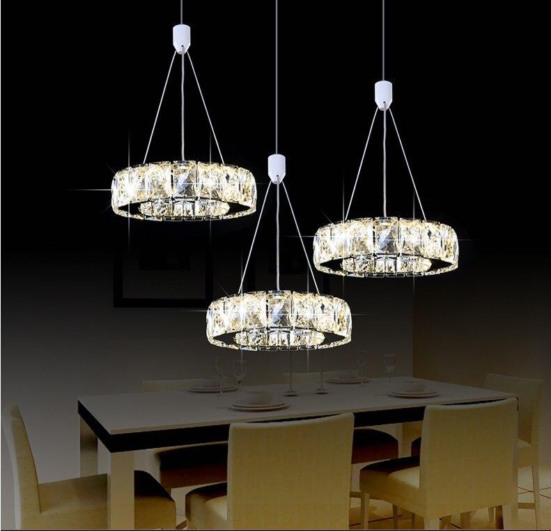 Modern Pendant Lights Crystal Pendant Lamp Lustres De Crrystal Led Strip Home Lighting Luxury Suspension Luminaire Abajur Avize недорго, оригинальная цена
