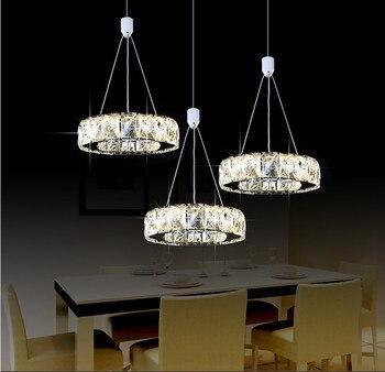 Modern Pendant Lights Crystal Pendant Lamp Lustres De Crrystal Led Strip Home Lighting Luxury Suspension Luminaire Abajur Avize фото