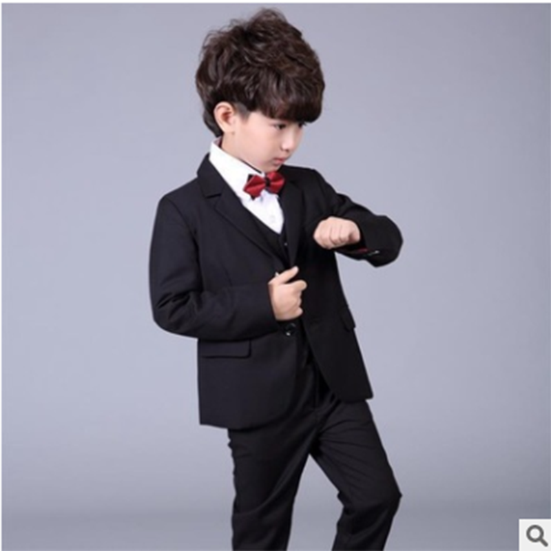 Boys blazers kids Boys suits for weddings Prom Suits Wedding Dress for Boys Kids tuexdo Children Clothing Set Blazers for BoysTB kids blazers jackets blue patchwork clothing set for baby clothes boys wedding dress children lounge suit terno infantil blazers