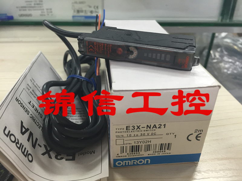 ФОТО E3X-NA21 fiber amplifier OMRON