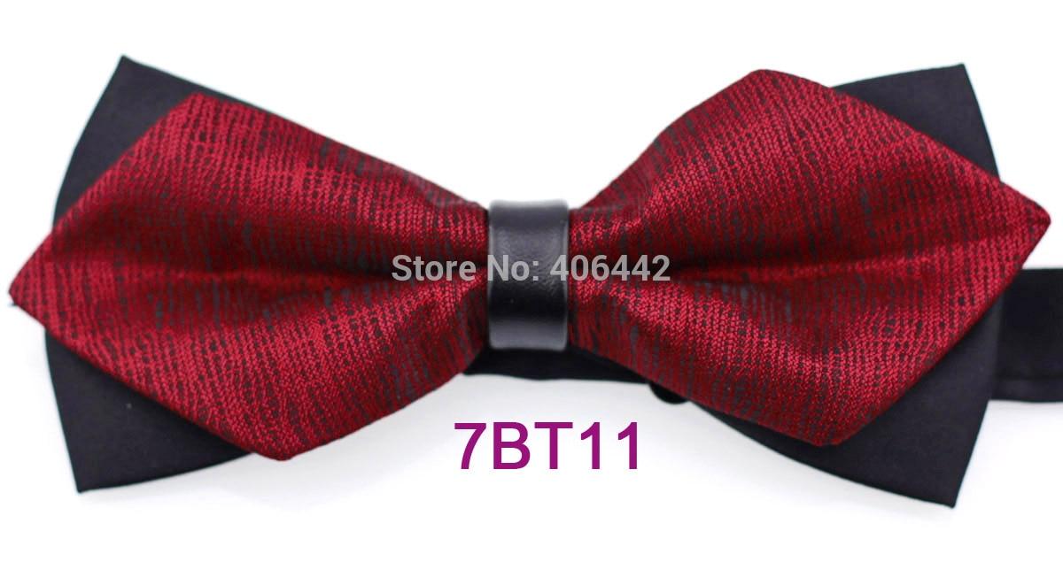 yibei coachella ties new design black  u0026 burgundy diamond