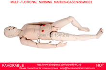 GENDER INTERCHANGEABLE NURSING MANIKIN,FEMALE/MALE NURSING MANIKIN, MEDICAL MODEL,MULTI-FUCTIONAL NURSING MANIKIN-GASEN-NSM0003