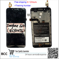 Original! Black LCD screen display+touch digiziter with frame For ASUS ZENFONE GO ZC500TG Z00VD free shipping,Test ok