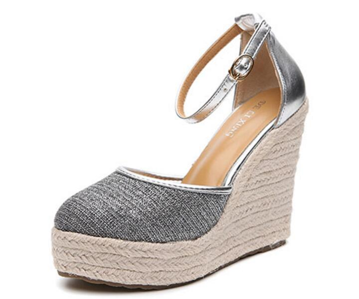 Summer Shoes Women Sandals Pumps Wedges Platform High-Heels Woman Sapato Feminino Lady