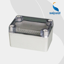 2013 Hot sale small clear plastic boxes with lids waterproof junction box 65 95 55MM