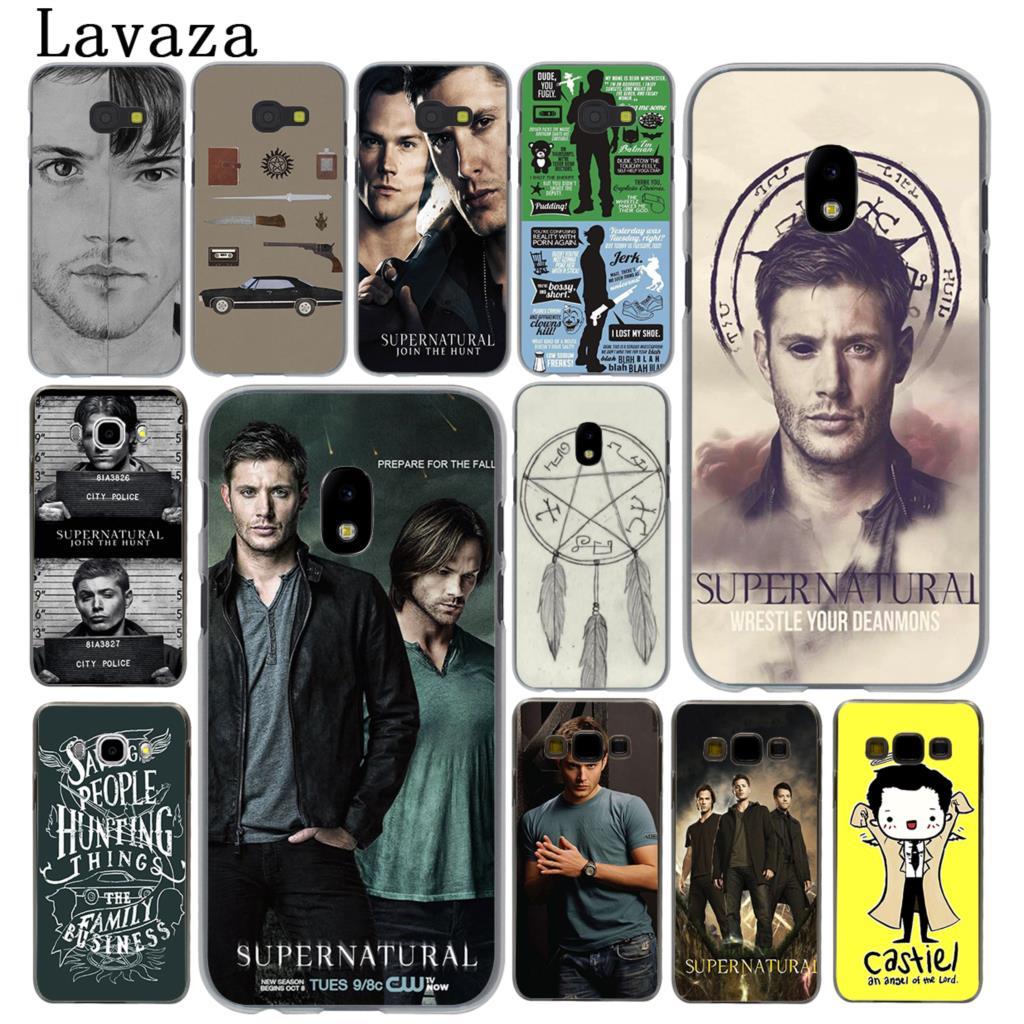 Lavaza Supernatural SPN Jensen Ackles Hard Phone Case for Samsung Galaxy J5 J1 J2 J3 J7 2017 2016 2015 2018 J3 J5 Prime Cover