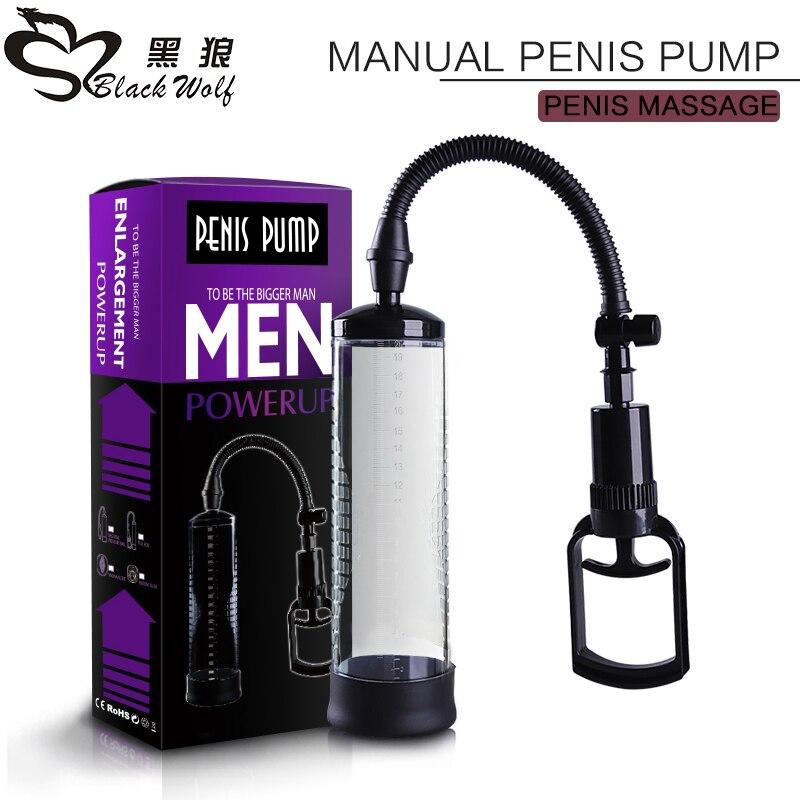 Sex Toy For Men  Penis Pump Vibrator Vacuum Train Male  Enlarger Enlargement Sucking Vacuum Sleeve Masturbator