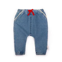 6-24M Baby Girl lace Jeans 2017 Autumn Baby Clothing Girls Denim Trousers Child Jeans Pants For Girls PP Pant Next Baby Gift