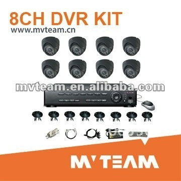 8ch Security Camera Set  with Multi-language Menu( CE,ROHS,FCC Certificate )For Switzerland