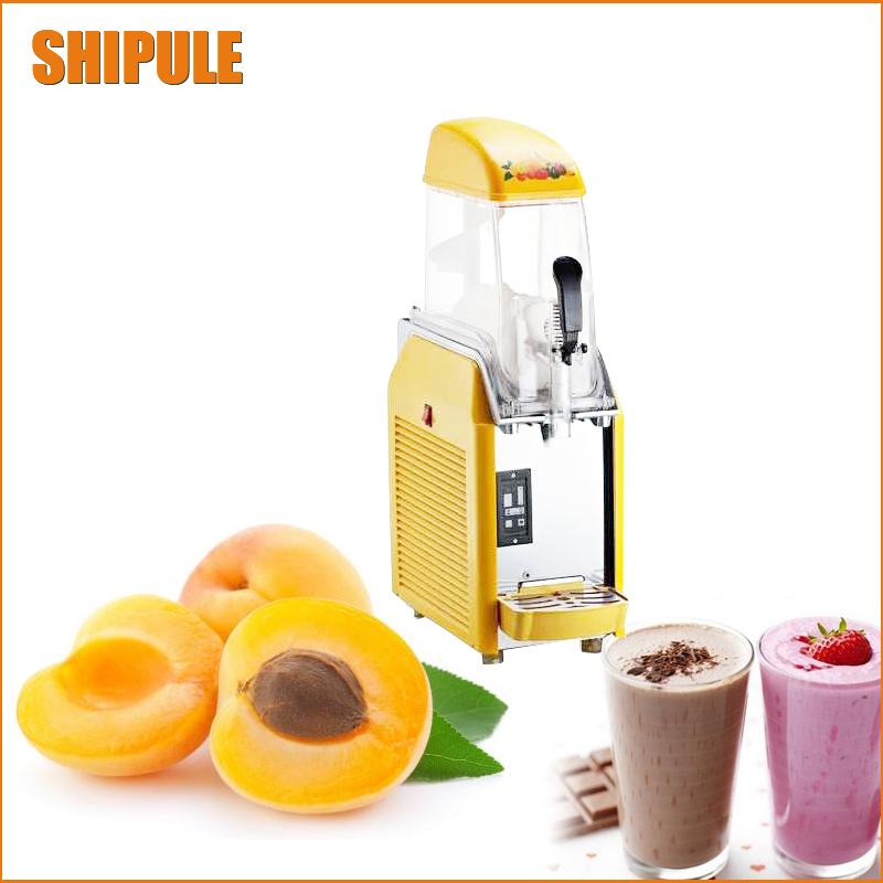 Free shipping 1 Tanks 1Bowl Slush Machine commercial slush machine ice machine drink machines With CE Approved