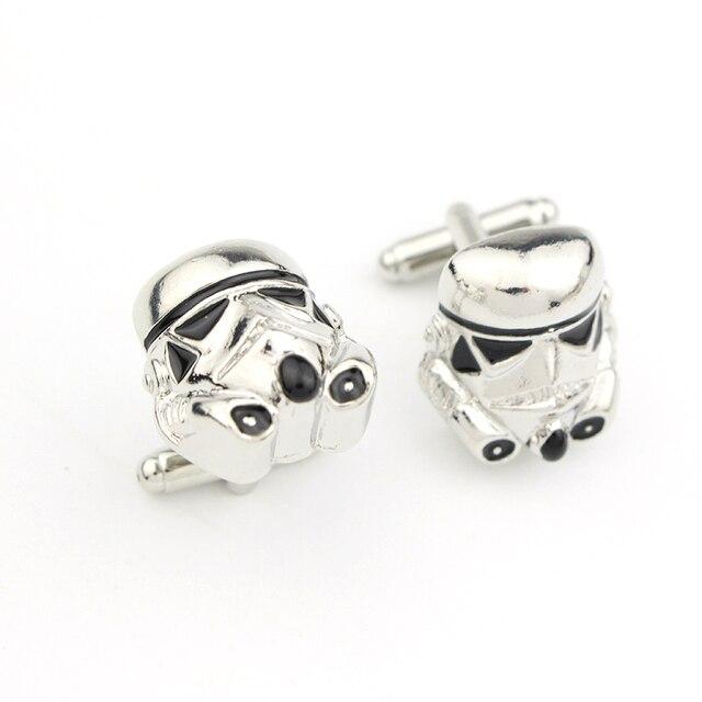 bouton de manchette stormtrooper